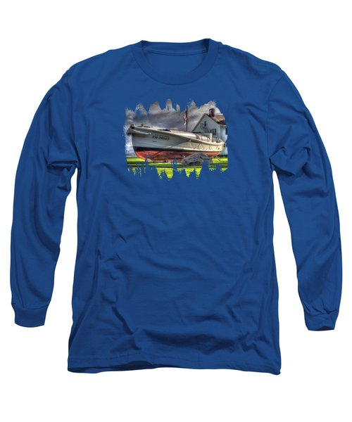Newport Coast Guard Station Long Sleeve T-Shirt
