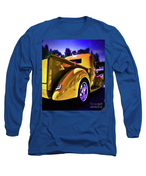 Nice Rear Edited Long Sleeve T-Shirt