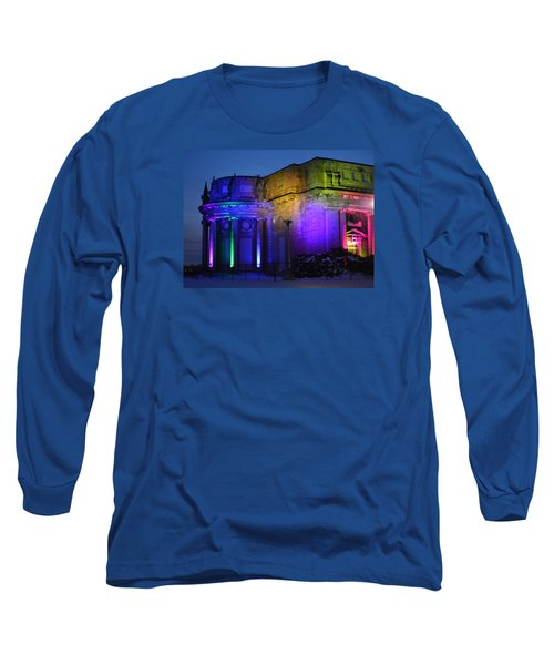 Night Lights Niagara Long Sleeve T-Shirt