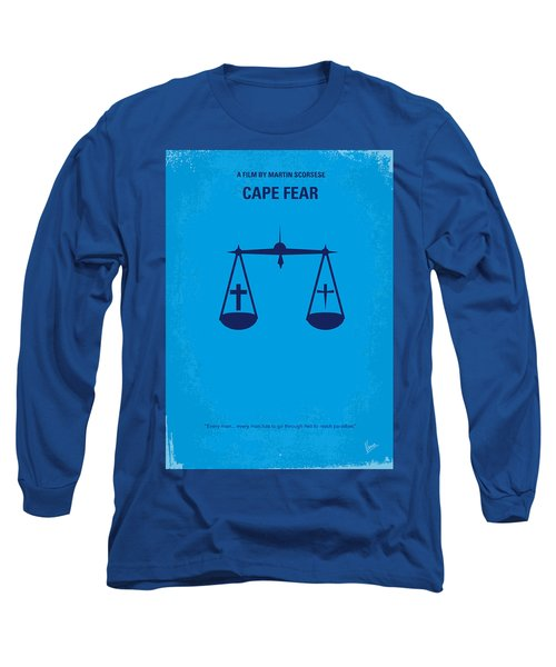 No014 My Cape Fear Minimal Movie Poster Long Sleeve T-Shirt