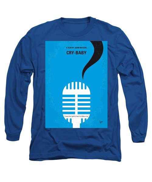 No505 My Cry-baby Minimal Movie Poster Long Sleeve T-Shirt by Chungkong Art