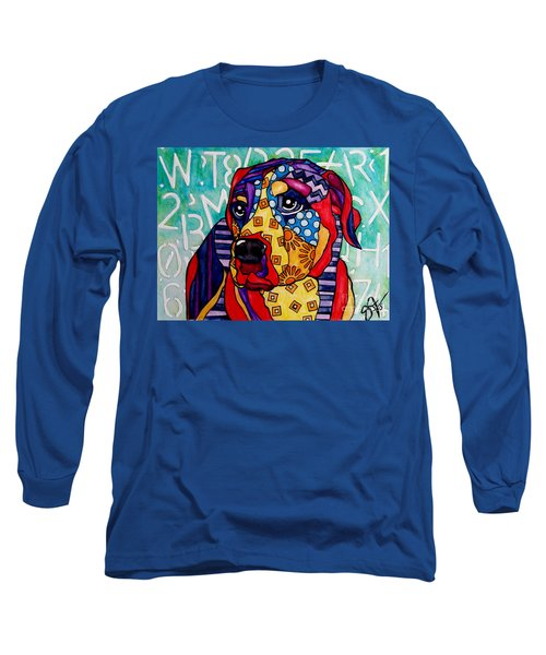 Norman  Long Sleeve T-Shirt by Jackie Carpenter