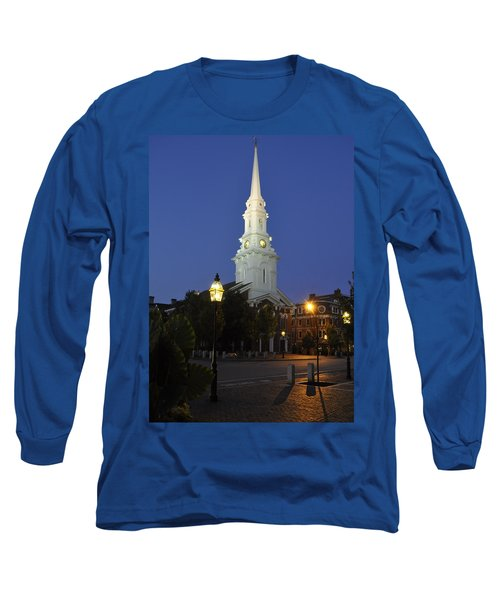 North Church Ncp Long Sleeve T-Shirt by Jim Brage