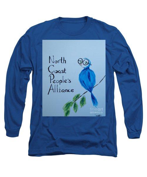 North Coast People's Alliance With Bernie Long Sleeve T-Shirt