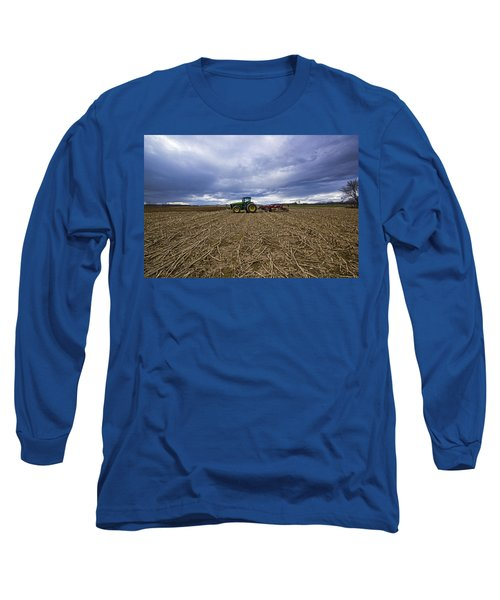 North Fork Tractor Long Sleeve T-Shirt