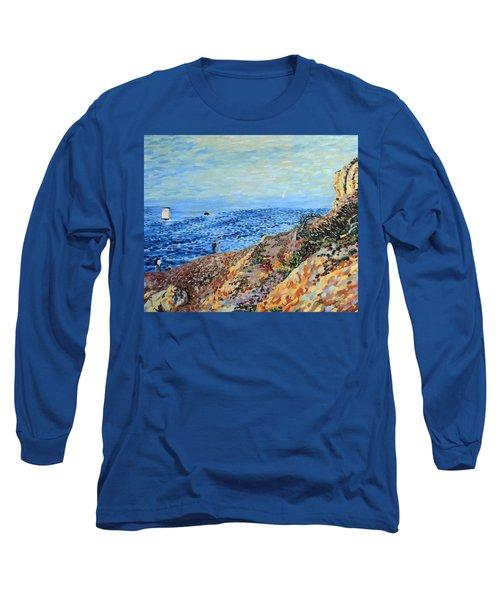 November Day At Point Lobos San Francisco Long Sleeve T-Shirt