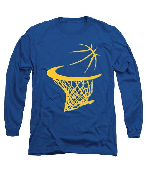 Nuggets Basketball Hoop Long Sleeve T-Shirt