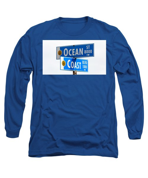 Ocean And Coast Long Sleeve T-Shirt