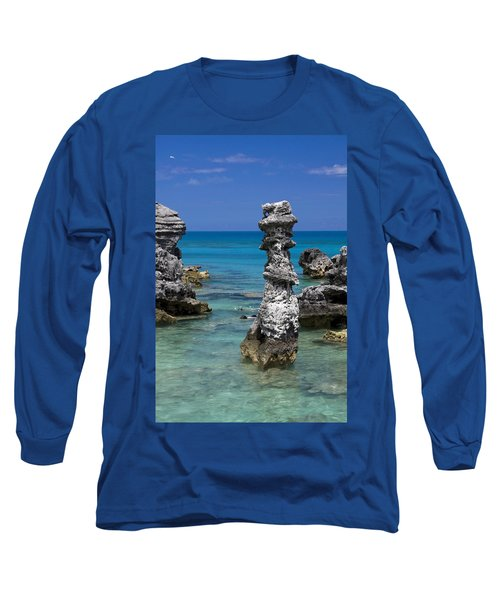 Ocean Rock Formations Long Sleeve T-Shirt