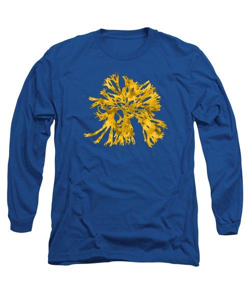 Ocean Seaweed Plant Art Rhodomenia Sobolifera Square Long Sleeve T-Shirt