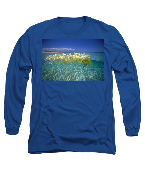 Ocean Surface Long Sleeve T-Shirt by Vince Cavataio - Printscapes