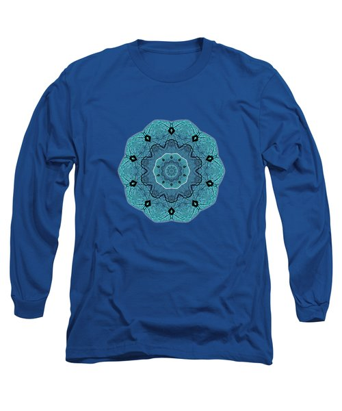 Ocean Swell Abstract Painting By V.kelly Long Sleeve T-Shirt