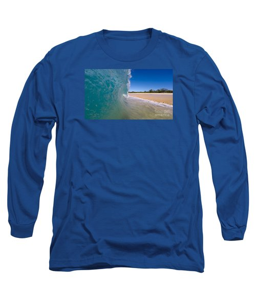 Ocean Wave Barrel Long Sleeve T-Shirt