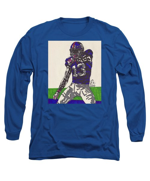 Odell Beckham Jr  Long Sleeve T-Shirt by Jeremiah Colley