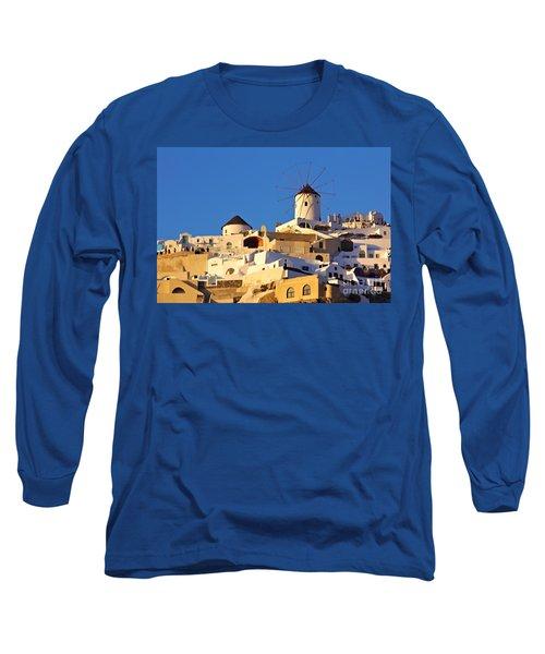 Oia Windmill Long Sleeve T-Shirt