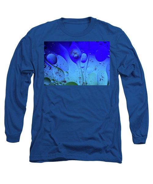 Oil And Water 12 Long Sleeve T-Shirt by Jay Stockhaus