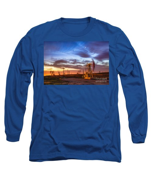 Oil Rigs 3 Long Sleeve T-Shirt