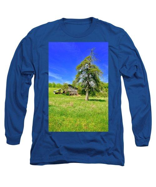 Old Barn, Smith Mountain Lake Long Sleeve T-Shirt