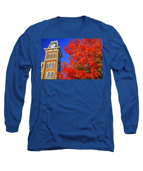Old Main Maple Long Sleeve T-Shirt by Damon Shaw