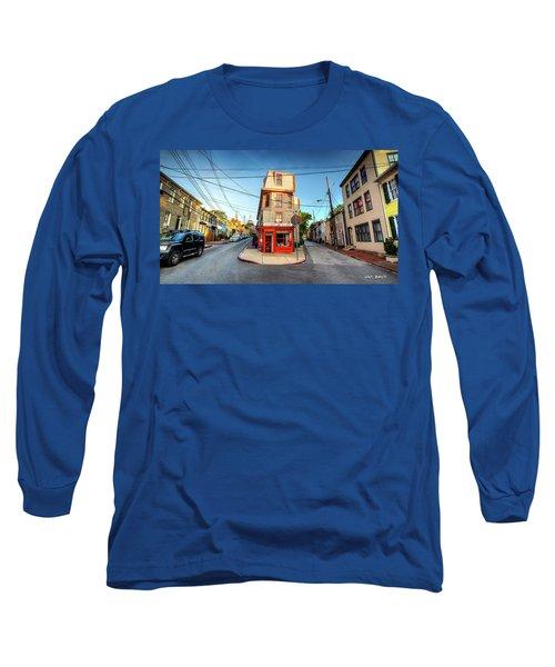 Old School Annapolis Long Sleeve T-Shirt