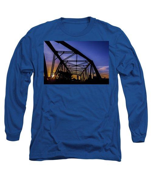 Old Steel Bridge Long Sleeve T-Shirt