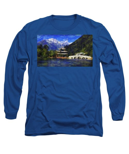 Old Town Of Lijiang Long Sleeve T-Shirt
