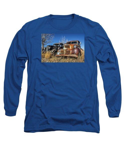 Old Trucks Long Sleeve T-Shirt