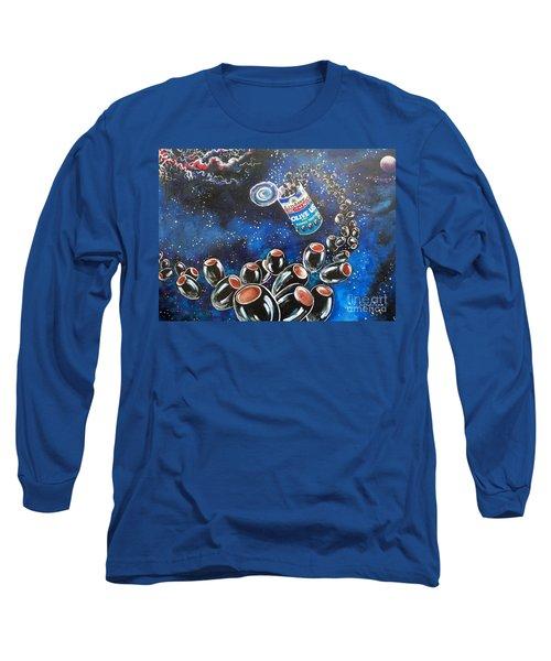 Blaa Kattproduksjoner                     Oliveus Are Canned Together Can Long Sleeve T-Shirt