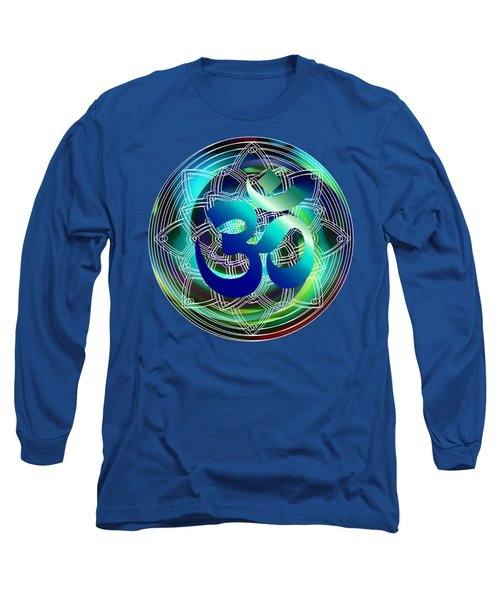 Om Vibration Ocean Long Sleeve T-Shirt