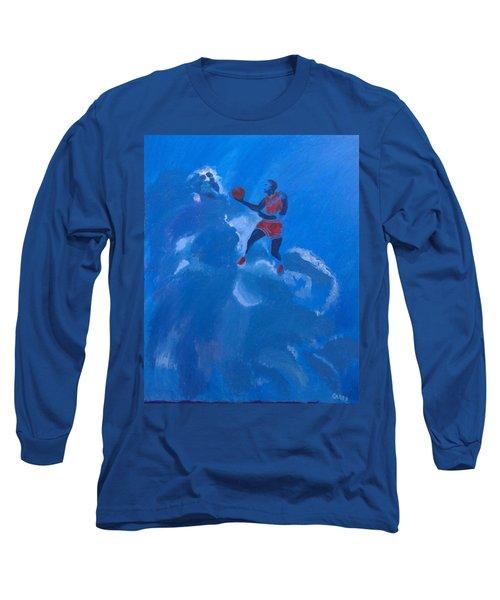 Omaggio A Michael Jordan Long Sleeve T-Shirt