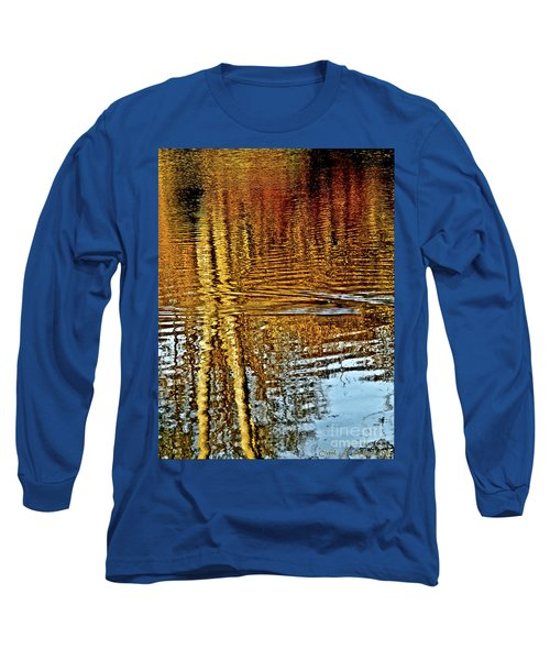 On Golden Pond Long Sleeve T-Shirt by Carol F Austin