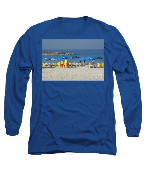 On The Beach-tel Aviv Long Sleeve T-Shirt