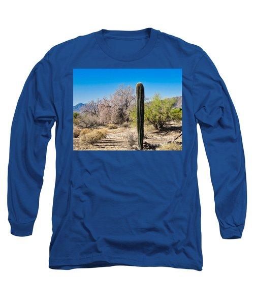 On The Ironwood Trail Long Sleeve T-Shirt