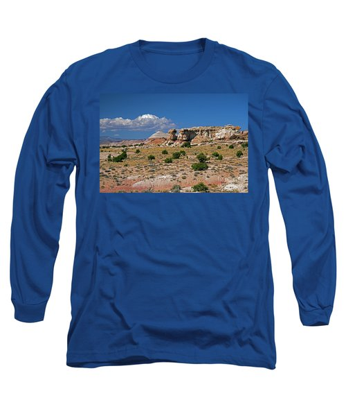 On The Road To Cathedral Valley  Long Sleeve T-Shirt