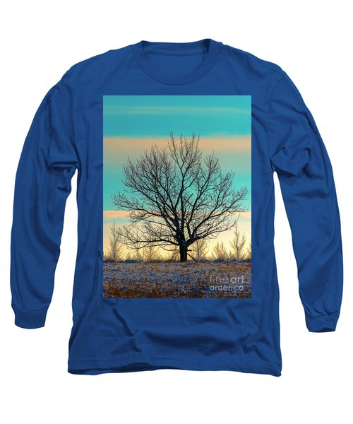Long Sleeve T-Shirt featuring the photograph One by Nina Stavlund