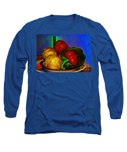 Onions Apples Pepper Long Sleeve T-Shirt