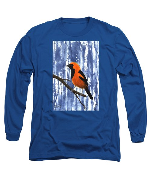 Orange-headed Oriole Long Sleeve T-Shirt