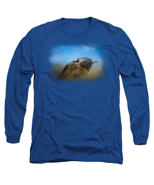 Osprey Over Pickwick Long Sleeve T-Shirt by Jai Johnson