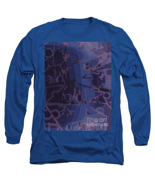 Touch Away Long Sleeve T-Shirt by Moustafa Al Hatter