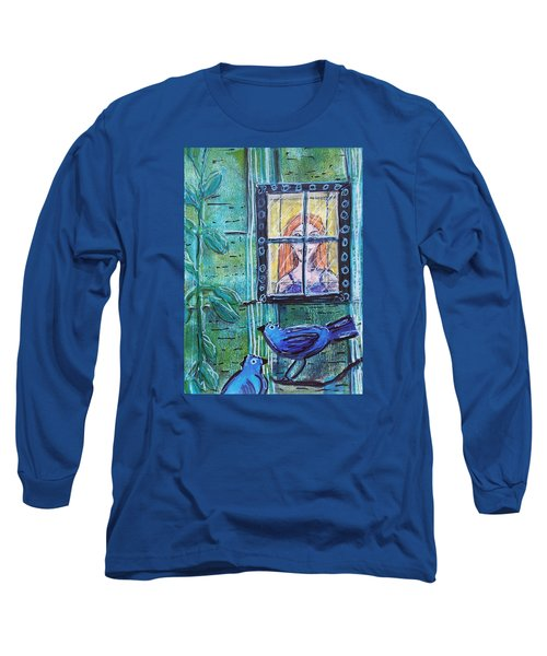 Outside My Window Long Sleeve T-Shirt