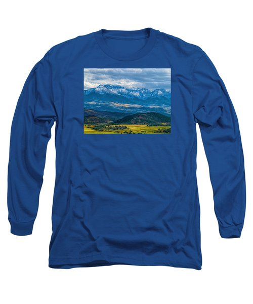 Outside Of Ridgway Long Sleeve T-Shirt by Alana Thrower