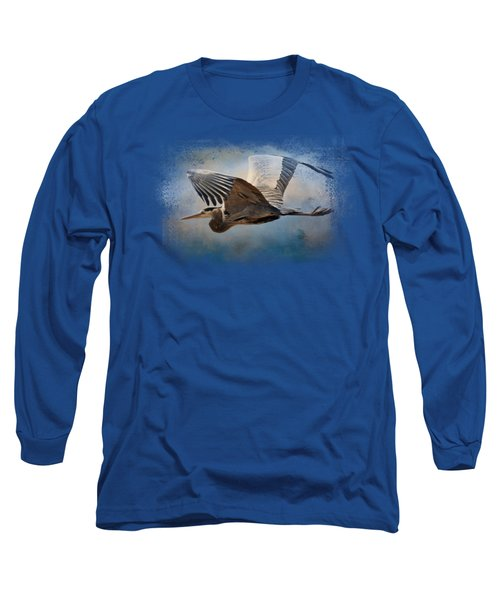 Over Ocean Skies Long Sleeve T-Shirt by Jai Johnson