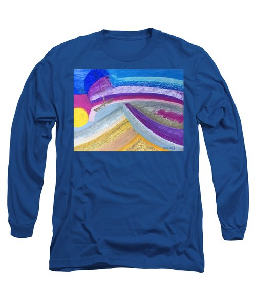 Over The Waves Long Sleeve T-Shirt
