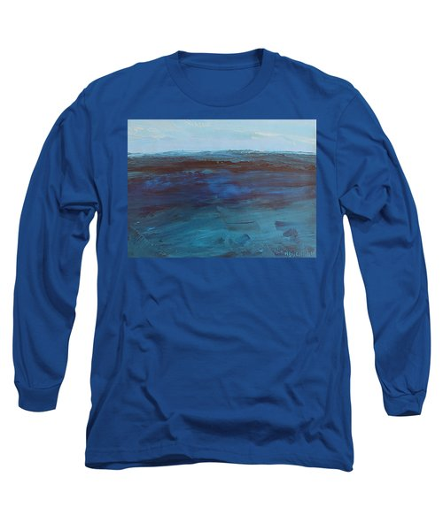 Pacific Blue Long Sleeve T-Shirt
