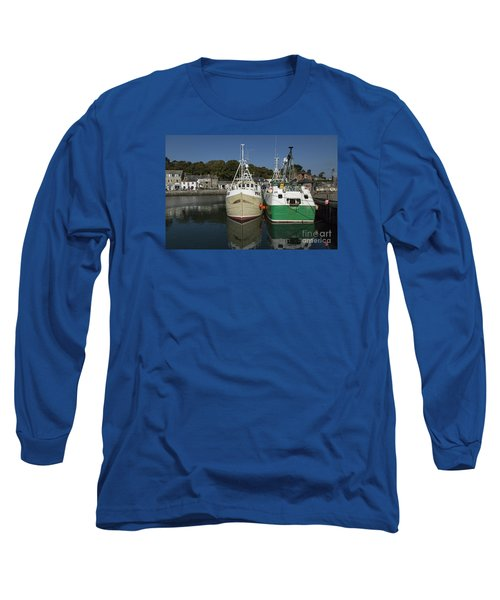 Padstow Fishing Boats Long Sleeve T-Shirt
