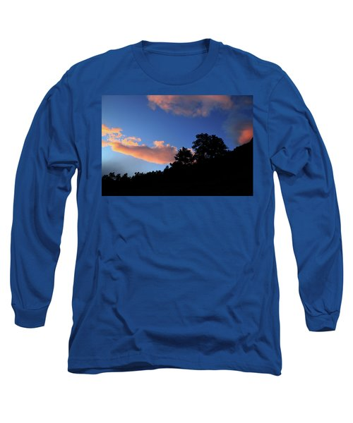 Painted Clouds Long Sleeve T-Shirt