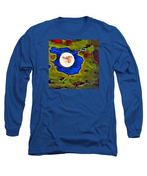 Painted Moon Long Sleeve T-Shirt