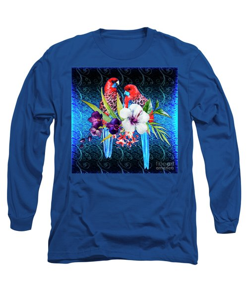 Paired Parrots Long Sleeve T-Shirt