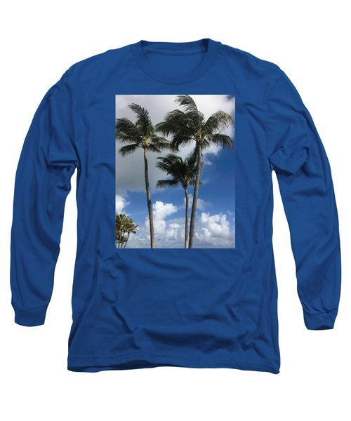 Long Sleeve T-Shirt featuring the photograph Palm by Arlene Carmel