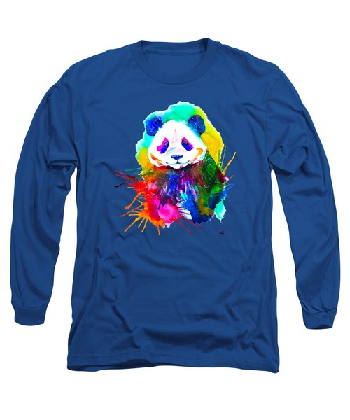 Panda Splash Long Sleeve T-Shirt
